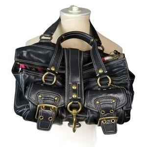 COACH 65TH ANNIVERSARY Rare Iconic Black Leather L
